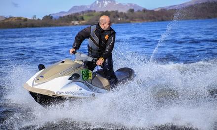 20Minute Jet Ski Experience for One or Two at Jetski Safari Loch Lomond