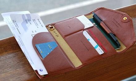 06e54541f7e 1 of 2 PUleren reisportemonnees met meerdere vakken vanaf € 12,98 inclusief  verzending,
