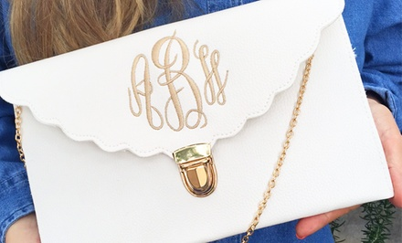 One or Two Monogrammed Purses from Embellish Accessories and Gifts (Up to 59% Off)