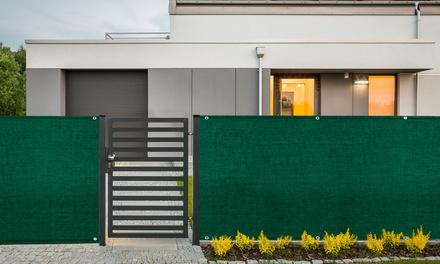 1, 2 ou 3 rouleaux brises vue verts pour jardins, terrasses et balcons