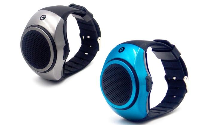 Groupon Goods Global GmbH: Pulsera altavoz con Bluetooth Overnis