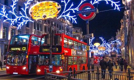Londres : 1 journée de shopping au marché de Noël avec transport en autocar et traversée en ferry