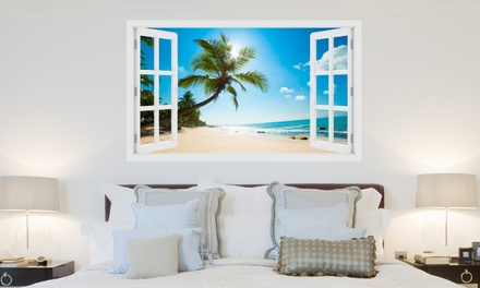 Tropical Mural Wall Sticker in Choice of Size and Design