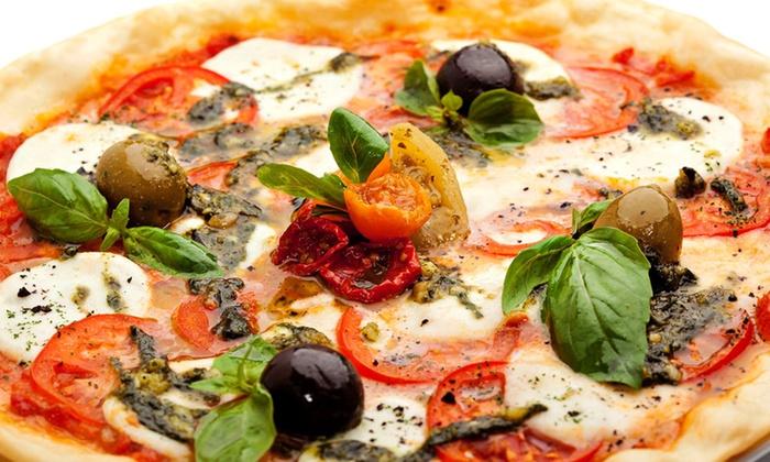 Pazzo Pizzeria - Crystal Lake: $12 for Pizza, Breadsticks, and Marinara Sauce at Pazzo Pizzeria ($20 Value)
