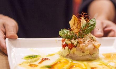 Menu sushi con vino, zona Vomero