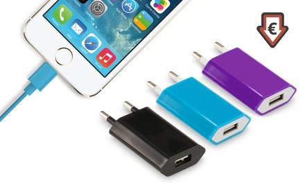 Câble de chargement de 3 mètres iPhone 5/5S/5C/6/6+ /iPad, prise murale en option dès 1,66 € (jusqu'à 92% de réduction)