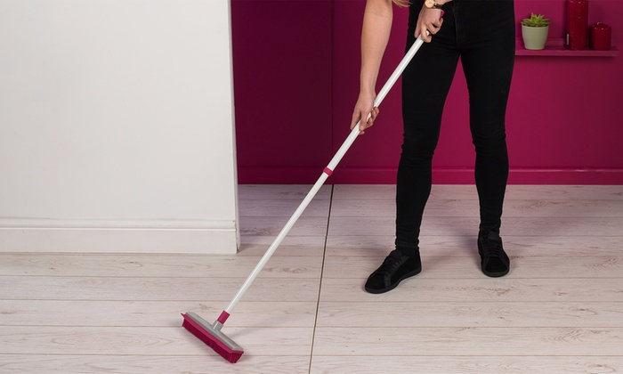 ElectrostaticRubber Head Floor Brush