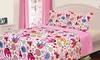 Home & Main Kids' Printed Reversible Quilt Set: Home & Main Kids' Printed Reversible Quilt Set
