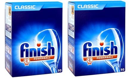 180 pastillas para el lavavajillas Finish Powerball Classic