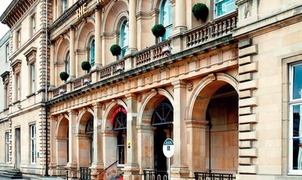 Hull: 1 Night for Two with Breakfast and Wine at Royal Hotel Hull