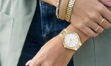 1 o 2 orologi Timothy Stone con cristalli Swarovski® disponibili in vari modelli e colori con spedizione gratuita