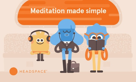 One-Year Membership to Headspace (40% Off)