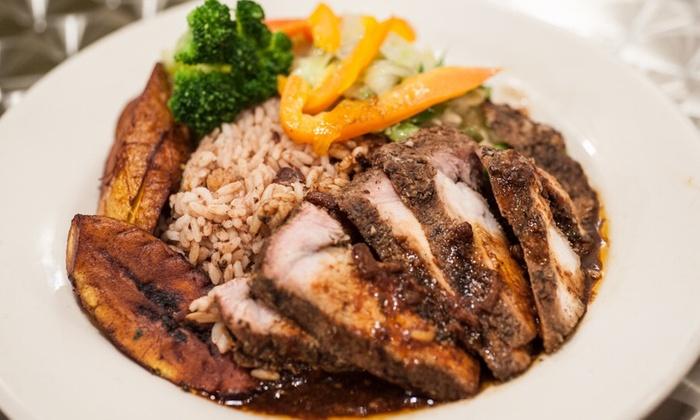 Caribbean cuisine spice afro caribbean cuisine groupon for Afro caribbean cuisine