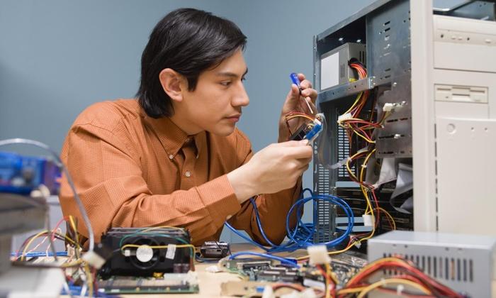 24 Hour Computer Services - Northeast San Antonio: One Hour of Computer-Repair Service from 24 Hour Computer Services (37% Off)