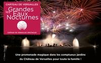 Entrée simple ou prestige pour les Grandes Eaux Nocturnes du Château de Versailles, les 19 et 26 août 2017 dès 17 €