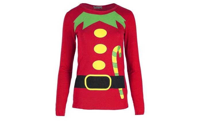 womens christmas t shirt
