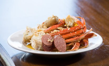 image for Cajun Seafood for Two or More at 99 Degrees Seafood Kitchen (32% Off)