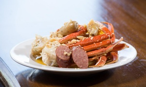 99 Degrees Seafood Kitchen: Cajun Seafood for Two or More at 99 Degrees Seafood Kitchen (32% Off)