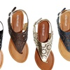 Olivia Miller Alsium Women's Laser Cut Sandals