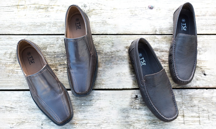 Mocassins cuir Homme TSF   Groupon Shopping eba489959c3b