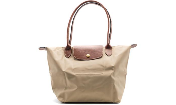 Low Price Portable Longchamp Le Pliage Hobo Bags Beige