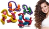 Flexible and Twistable Hair Curling Flex Rods (42-Pack)