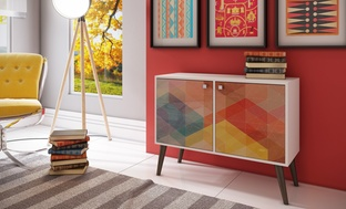 Manhattan Avesta Double-Door Side Table