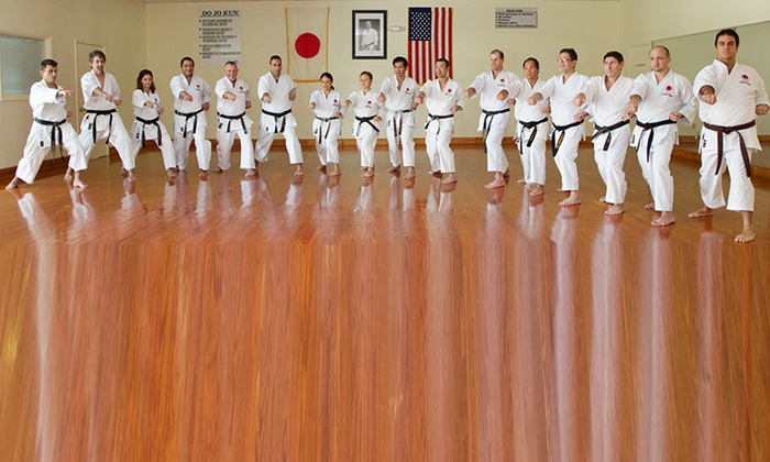 Shotokan Karate Center - Chevy Chase: One, Three, or Six Months of Adult Karate Classes at Shotokan Karate Center (Up to 68% Off)