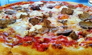 Classic Crust Pizza: Large Pizza Meal or Lunch Pizza Special for Two at Classic Crust Pizza (Up to 45% Off)