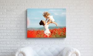 Printerpix: Individuelle Foto-Leinwand 41 x 61 cm von Printerpix (82% sparen*)