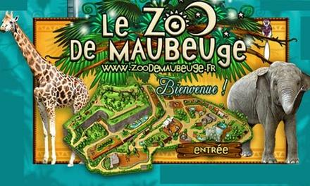 1 ou 2 entrées pour adulte au Zoo de Maubeuge dès 7,50 €