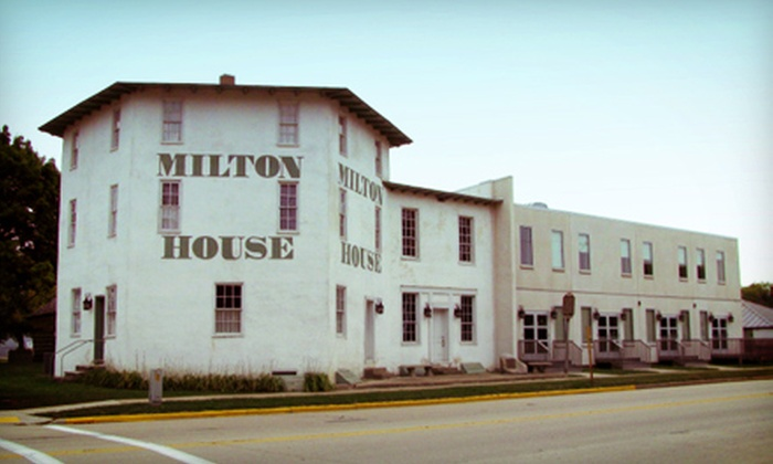 The Milton House Museum - Indian Heights: Fall Twilight Tour with Wine Tasting and Food Pairing for Two or Four at The Milton House Museum (Up to 55% Off)