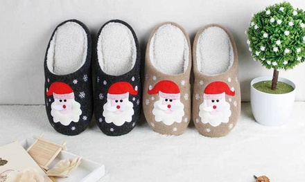 Santa Claus Christmas Slippers for AED 79