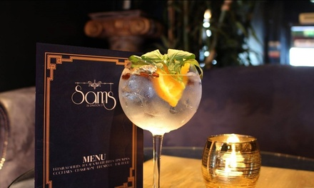 Three Cocktails of Choice at Sam's Bar, Dawson Street (Up to 58% Off)