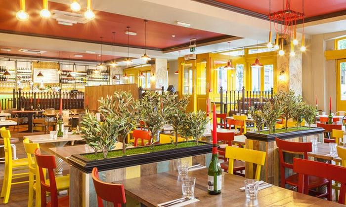 Restaurant deals 2 for 1 london