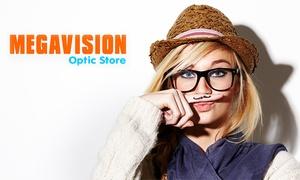 Megavision Optic Store: Megavision - Occhiali da vista o da sole, con lenti monofocali o progressive (sconto fino a 81%). Sedi in tutta Italia