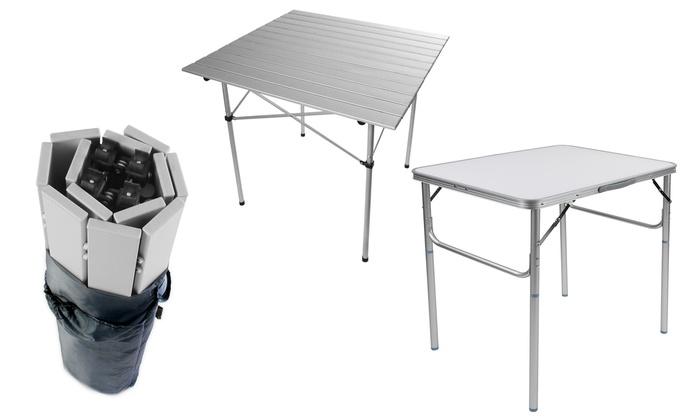 Tavolo pieghevole in alluminio | Groupon Goods