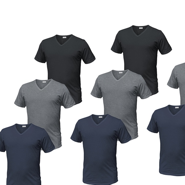 4402fb87d9da Fino a 43% su Set da 12 T-shirt da uomo Liabel | Groupon