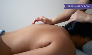 1 Advanced Rehab & Wellness Center: Posture Analysis and Massage with Optional Sauna Session at 1 Advanced Rehab & Wellness Center (Up to 66% Off)