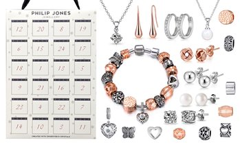 Philip Jones Advent Calendar with Crystals from Swarovski®