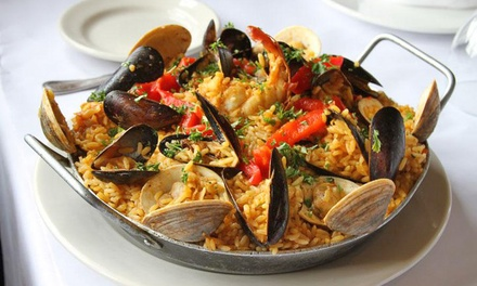 Spanish Food at Cervantes of Spain (50% Off)