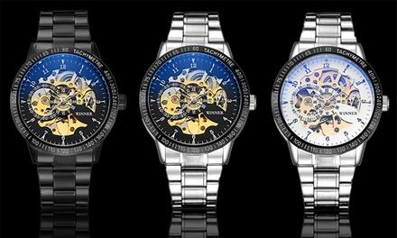 Reloj para hombre con correa de acero inoxidable