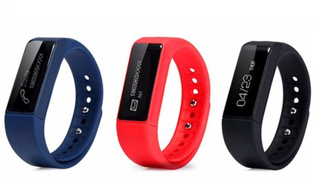I5 Plus Waterproof Activity Tracker with Touchscreen