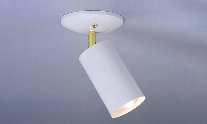 Thomas Lighting Essentials 1-Light Adjustable Spotlight