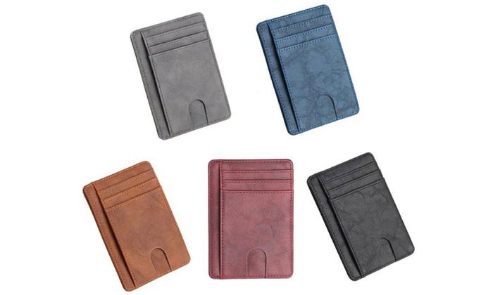 Porte-Cartes avec Protection RFID.