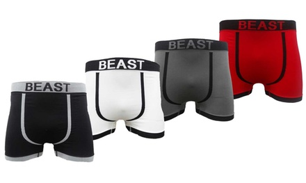 Six-Pack of Seamless Boxer Shorts
