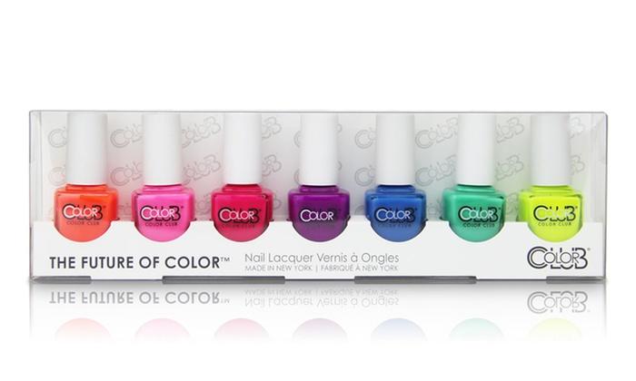 Color Club Nail Polish (7-Pack) | Groupon Goods