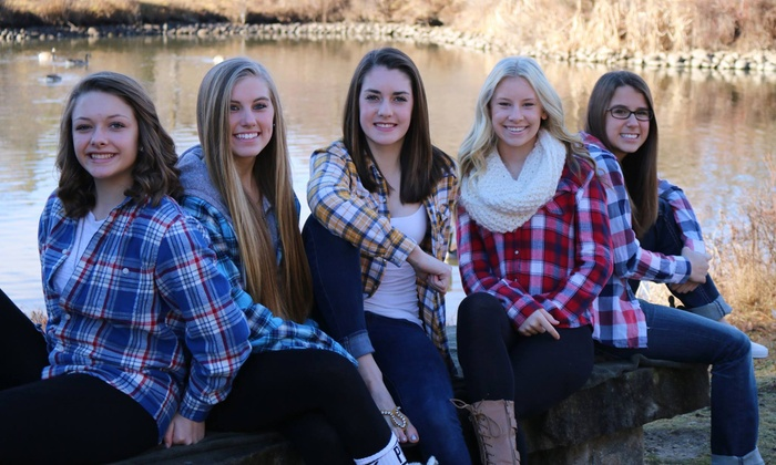 Dreamhigh Photography - Boise: One-Hour On-Location Photo Shoot for Up to Five or Eight with Prints from Dreamhigh Photography (Up to 77% Off)