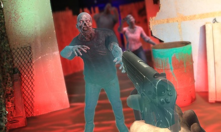Two or Four Mixed Reality Zombie-Based Arcade Games for One or Two at Reality Zombies (Up to 42% Off)