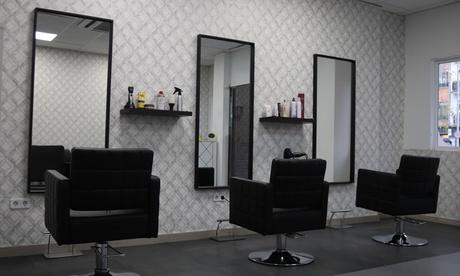Sesión de peluquería con masaje craneal, lavado y corte en DL Studio Hairdresser (hasta 64% de descuento)